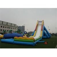 Quality EN14960 Eco - Friendly Giant Inflatable Water Slide For Garden Adult Inflatable Games for sale