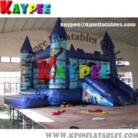 Wholesale Hallowmas combo ,inflatable combo game,inflatable bouncer with slide obstacle KCB053 from china suppliers