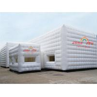 Wholesale White 9x6m Party Inflatable Cube Tent for outdoor event from china suppliers