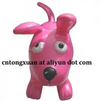 Wholesale Plastic Material Puppy Type Inflatable Hopper Animals from china suppliers