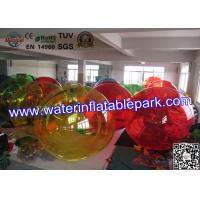 Wholesale Party Rental Crazy Inflatable Water Ball , Inflatable Hamster Ball For Entertainment from china suppliers