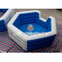 Wholesale Kids Inflatable Water Toys , Swimming Pool Inflatables Square Pool For Backyard Fun from china suppliers