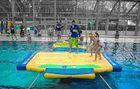Wholesale Tarpaulin Fabric Inflatable Water Sport / game equipmet junction WP64 for lake and pool from china suppliers