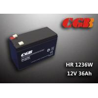 Buy cheap 12V 7ah HR1236W Charge Ups Battery , Agm Longest Lasting Deep Cycle Battery from wholesalers