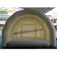 Wholesale White Giant Inflatable Tent For Camping / Large Inflatable Marquee from china suppliers