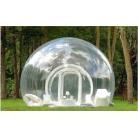Wholesale 3 Layer 500D PVC tarpaulin Comercial Big Inflatable Tent, Inflatable Bubble Tents YHTT-019 from china suppliers