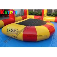 Wholesale Water trampoline,D shape trampolin,half moon water trampolinem jumper trampoline,KWT007 from china suppliers