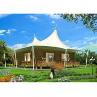 Buy cheap Heat Insulation PVDF Material Double Vertex Luxury Deluxe Double Room Tent from wholesalers