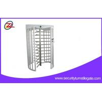 Wholesale Automatic Full Height Turnstiles Gate 304 Stainless Steel 120 Degree Single Lane from china suppliers