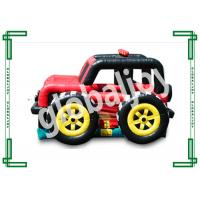 Wholesale Jeep Car Shape Commercial Inflatable Bounce House Rentals For Advertisement from china suppliers