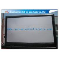 Wholesale Giant Outdoor Inflatable Movie Screen Rental , Portable Inflatable Projection Screen from china suppliers