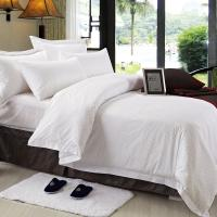 Wholesale Double Size Hotel Bedding Linen Plain White Color And 400T With 100% Cotton from china suppliers