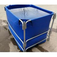 Wholesale 1500L High Opacity Removable Fish Pond , Plastic Ponds For Fish Farming from china suppliers