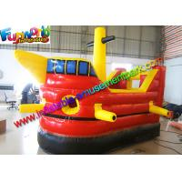 Wholesale Pirate Boat Commercial Bouncy Castles , Children Inflatable Bounce House from china suppliers