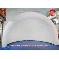 Wholesale oxford Large Square White  Inflatable Tent  With Inflatable Lawn Tent Advertising from china suppliers