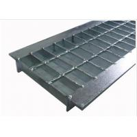 Quality Anti Slip Outdoor Drain Grate Covers , Serrated Steel Trench Covers Grates for sale