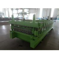 Quality Main Power 5.5Kw IBR And Corrugated Double Layer Roof Panel Roll Forming Machine for sale