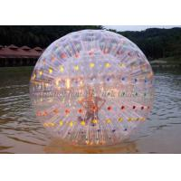 Wholesale Giant Color Dot Inflatable Human Hamster Ball For Blow Up Water Park from china suppliers