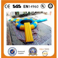 Wholesale 2015 high quality small inflatable water trampoline from china suppliers