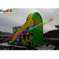 Quality Forest Jungle Commercial Inflatable Slide Slip Water Proof And Fire Retardant for sale