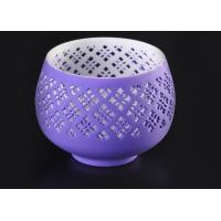 Wholesale graceful hollow out ceramic votive candle holder wholesale fit solid candle from china suppliers