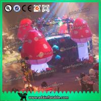 Wholesale Standing Inflatable Lighting Decoration Giant Inflatable Mushroom For Indoor from china suppliers