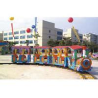 Residential Area Kids Ride Along Train And Track / Sit On Train Set Anti UV