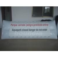 Wholesale 0.9mm PVC Tarpaulin White Color Inflatable Billboard For Water Park from china suppliers