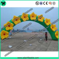 Quality Inflatable Flower Arch,Event Inflatable Archway, Inflatable Flower Entrance for sale
