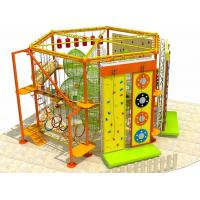 Wholesale New Style Amusement Park Indoor and Outdoor Adventure Rope Course with Clambing Wall from china suppliers
