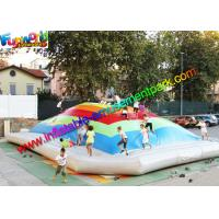 China Giant Inflatable Sports Games Air Bouncing , Jumbo Jumper Air Pillow on sale