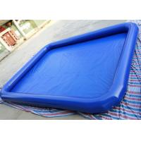 Wholesale Commercial Children Inflatable Water Pool 7m x 9m For Backyard Blow Up Water Park from china suppliers