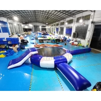 Wholesale Mega Aqua Park Inflatable Water Trampoline Jumping Floating Games from china suppliers