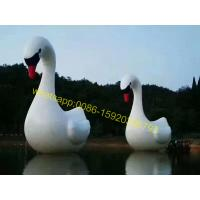 Wholesale lake giant inflatable swan from china suppliers