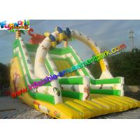 Wholesale Colorfully Tiger Commercial Inflatable Slide Dry Slide Slip With PVC Vinyl from china suppliers