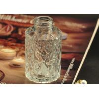 Wholesale Cut Glass Perfume Bottles Antique Transparent With Emboss Pattern from china suppliers