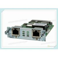 Wholesale Multiflex Vwic Network Interface Card VWIC3-2MFT-T1/E1 With 2 X T1 / E1 Network Wan from china suppliers