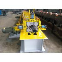 Wholesale One Bender Downspout Roll Forming Machine , Gutter Rolling Machine 10-15 M/ Min from china suppliers