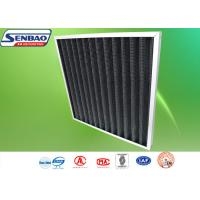 Wholesale Activated Carbon Synthetic Fiber Industrial Air Filters With Pleated Filter Media from china suppliers