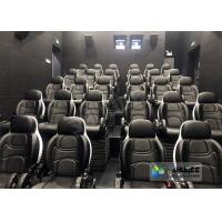 Wholesale Amusing Safety 5D Movie Theater Free - Life Time Update Genuine Leather With 3 Seats from china suppliers