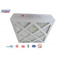 Wholesale HVAC System Cardboard Frame Fiberglass Air Filters with Mini Pleated Medium from china suppliers