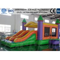 Wholesale 0.55mm PVC Commercial Inflatable Bouncer  Castle with EN 71 and CE Stardands from china suppliers