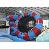 Wholesale 2015 high quality inflatable water games ,water trampoline with spring from china suppliers