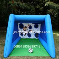 Wholesale Popular Outdoor Inflatable Football Shoot Games, Backyard Inflatable Soccer Goal Game For Sale from china suppliers