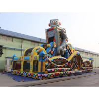Wholesale Robot Outdoor Inflatable Playground For kids from china suppliers