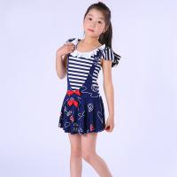 Quality Pretty Summer Essential Stretch Baby Girls Swimsuit for sale