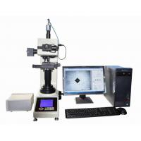 Buy cheap Automatic Vickers Hardness Machine With Motorized X-Y Anvil / Vickers Software from wholesalers