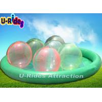 China Giant Inflatable Kids Swimming Pool  With Inflatable Water Ball on sale