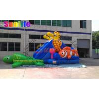 Wholesale inflatable exciting water pool seahorse slide from china suppliers