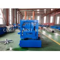 China Automatic Change Size CU 800-300 Steel Frame Purlin Roll Forming Machine 18.5kw power on sale